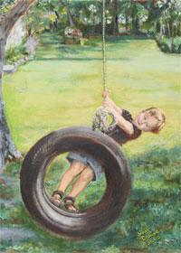John on Swing